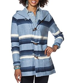 Chaps® Blanket Stripe Long Sleeve Sweater