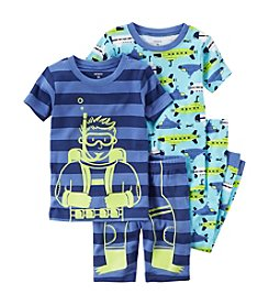 Carter's® Baby Boys 4-Piece Scuba Pajama Set