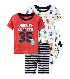 Carter's® Baby Boys 4-Piece Monster Set