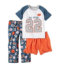 Carter's® Boys' 12M-5T 3-Piece All Star Pajama Set