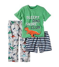 Carter's® Boys' 18M-5T 3-Piece Sleepy Dino Set