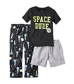 Carter's® Boys' 12M-5T 3-Piece Space Dude Pajama Set