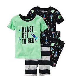 Carter's® Boys' 5-12 4-Piece Blast Off Set