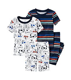 Carter's® Boys' 5-12 4-Piece Cool Dog Pajama Set