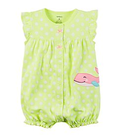 Carter's® Baby Girls' Dotted Whale Creeper