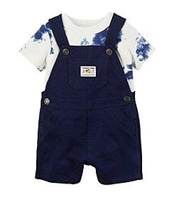Carter's® Baby Boys' 2-Piece Overall And Tye Dye Tee