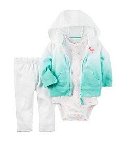 Carter's® Baby Girls' 3-Piece Flamingo Set