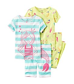 Carter's® Baby Girls' 4-Piece Mermaid Set