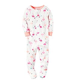 Carter's® Girls' Flamingo Printed Footie