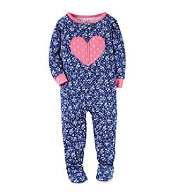 Carter's® Baby Girls' Floral Heart 1-Piece