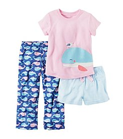 Carter's® Baby Girls'- 5T 3-Piece Whale Set