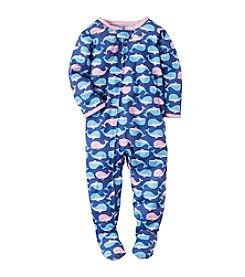 Carter's® Girls' Whale Printed Footie