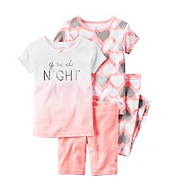 Carter's® Girls' 5-12 4-Piece Goodnight Set