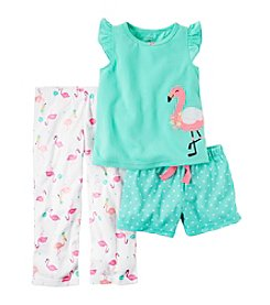 Carter's® Baby Girls' 3-Piece Flamingo Set