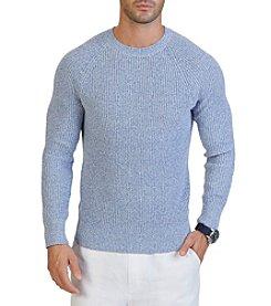 Nautica® Men's Long Sleeve Crew Neck Sweater