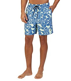 Nautica® Men's Floral Print Swim Trunk