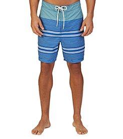 Nautica® Men's Engineered Stripe Swim Trunks