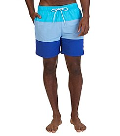 Nautica® Men's Coastal Colorblocked Swim Trunks