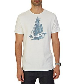 Nautica® Men's Short Sleeve Sailboat Tee