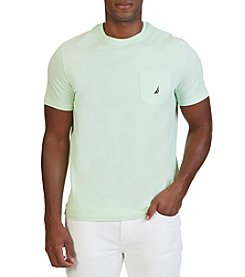 Nautica® Men's Short Sleeve Solid Pocket Tee