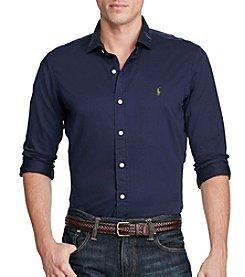Polo Ralph Lauren® Men's Spread Collar Long Sleeve Button Down Estate Shirt