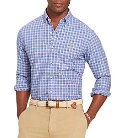Polo Ralph Lauren® Men's Long Sleeve Checked Oxford Button Down Estate Shirt