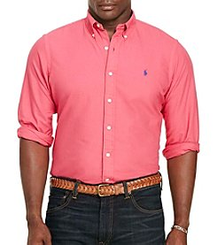 Polo Ralph Lauren® Men's Big & Tall Oxford Long Sleeve Button Down Shirt