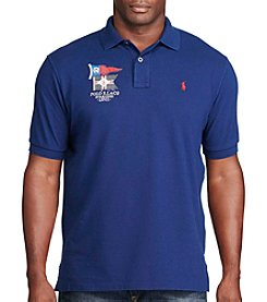 Polo Ralph Lauren® Men's Big & Tall Short Sleeve Embroidered Polo