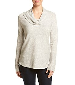 Calvin Klein Cowl Neck Ribbed Sweater