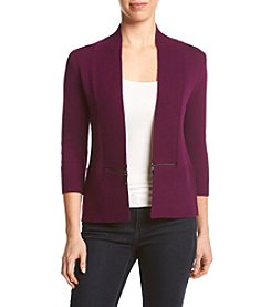 Ivanka Trump® Open Cardigan Sweater
