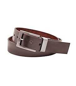John Bartlett Statements Men's Cut Edge Reversible Dress Belt