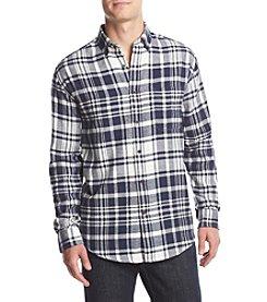 John Bartlett Consensus Men's Big & Tall Plaid Flannel Long Sleeve Button Down Shirt
