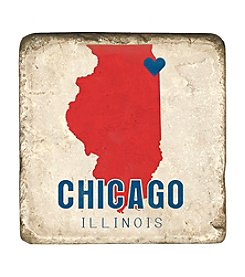 Studio Vertu Chicago Love Coaster