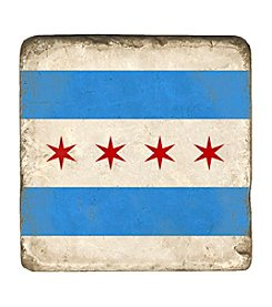 Studio Vertu Chicago Flag Coaster
