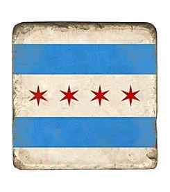 Studio Vertu Chicago Flag Coaster