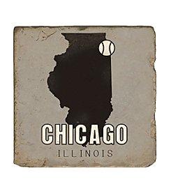 Studio Vertu Chicago Baseball Coaster