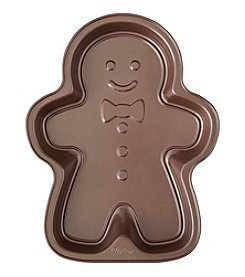 Wilton Bakeware Gingerbread Boy Cake Pan