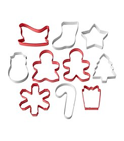 Wilton Bakeware 10-pc. Holiday Cookie Cutter Set