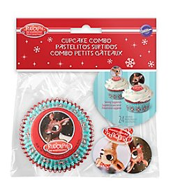 Wilton Bakeware Rudolph The Red-Nosed Reindeer Cupcake Decorating Kit