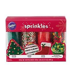 Wilton Bakeware 4-pk. Holiday Mega Sprinkles