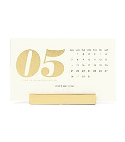 kate spade new york® Desktop Calendar 2017