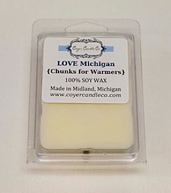 Coyer Candle Co. Love Michigan Wax Melts