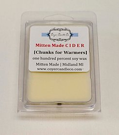 Coyer Candle Co. Mitten Made Cider Wax Melts