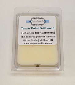 Coyer Candle Co. Tawas Point Driftwood Wax Melts