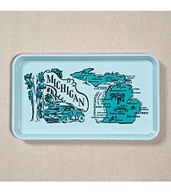 Peninsulas Michigan Tray