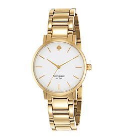 kate spade new york® Goldtone Gramercy Watch