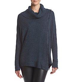 Ivanka Trump® Cowl Neck Fringe Sweater