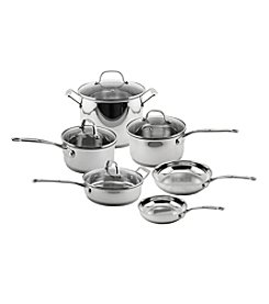 BergHoff® EarthChef Premium Copper Clad 10-pc. Cookware Set with Glass Lids