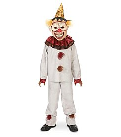 Scary the Carnival Clown with Mask Child Costume