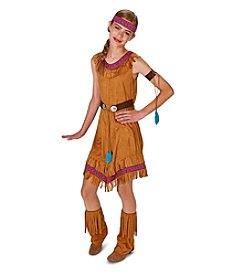 Genuine Native Princess Girl Tween Costume